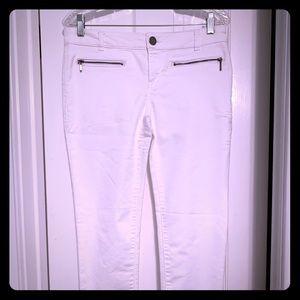 White Skinny Pant